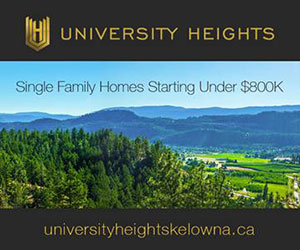 University Heights Kelowna by Whitfield Hall Developments Inc.