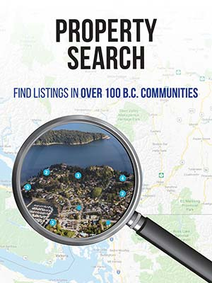 search for bc properties for sale with right sizing magazine property search