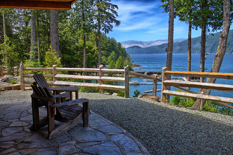 Wild Coast Cottages Waterfront Property